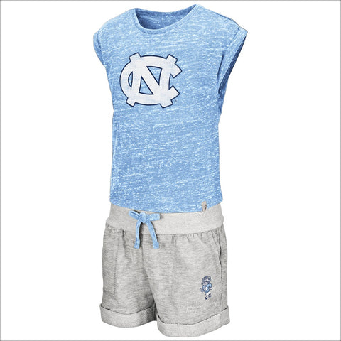 North Carolina Tar Heels Colosseum Toddler Girls Essential Set