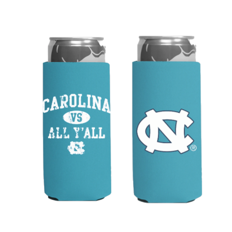 UNC Tall Can Coozie 2 Pack
