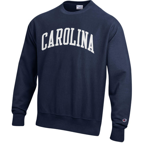 The Staple Crew - Champion Reverse Weave Navy Carolina Crewneck Sweatshirt