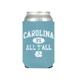 Carolina vs All Y'all UNC Coozie Standard 12 oz by JayMac Sports