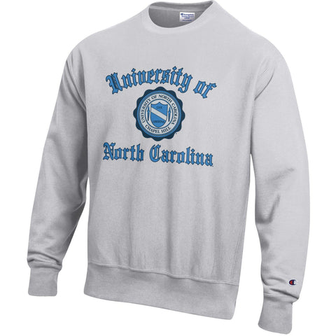 UNC Vintage Crewneck Sweatshirt - Reverse Weave with Seal