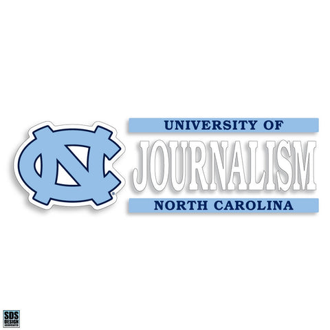 University of North Carolina Journalism Decal