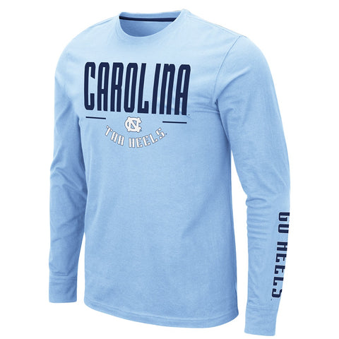 Carolina Tar Heels Mens Athletic Long Sleeve