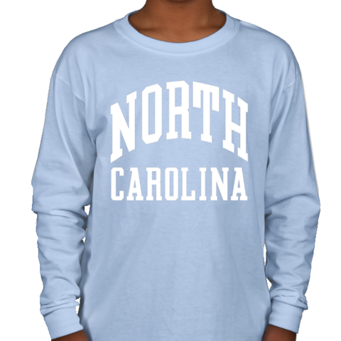 North Carolina Tar Heels Classic Youth Long Sleeve T-Shirt