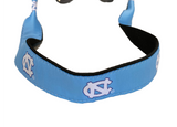 UNC Sunglasses Strap in Carolina Blue with North Carolina Logos Embroidered