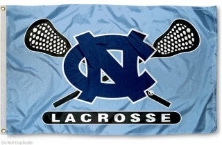 North Carolina Tar Heels Sewing Concepts UNC Lacrosse House Flag