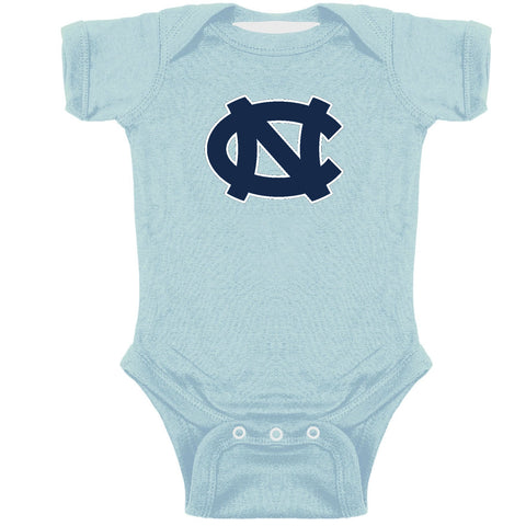 UNC Baby Onesie with Embroidered Logo