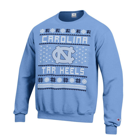 Champion Carolina Tar Heels Christmas Crewneck Sweatshirt