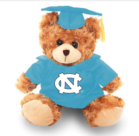North Carolina Tar Heels Jardine Graduation Bear