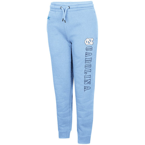 North Carolina Tar Heels Youth Walk The Walk Joggers - Carolina Blue - Front