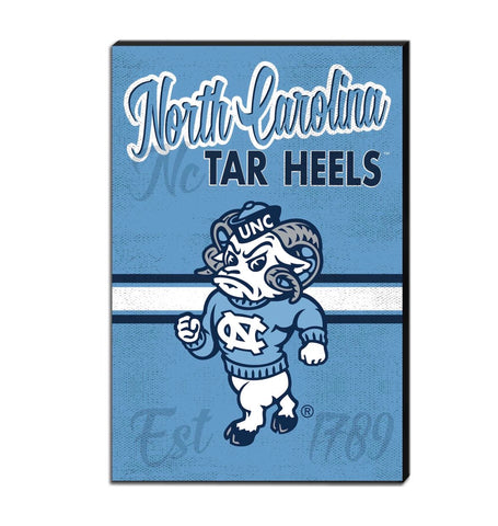 North Carolina Tar Heels Mascot Canvas Rameses