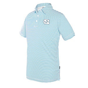 UNC Tar Heels Striped Toddler Polo