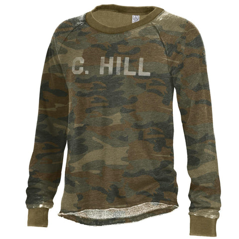 North Carolina Tar Heels Alternative Apparel C. Hill Camo Pullover