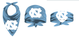 UNC Tar Heels Bandana with Large Interlock on Carolina Blue
