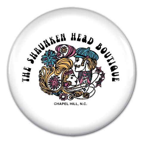 Shrunken Head Boutique Button Pin