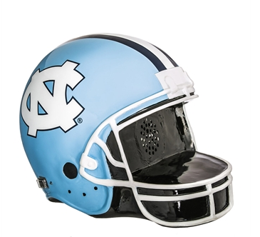 North Carolina Tar Heels Bluetooth Speaker Football Helmet