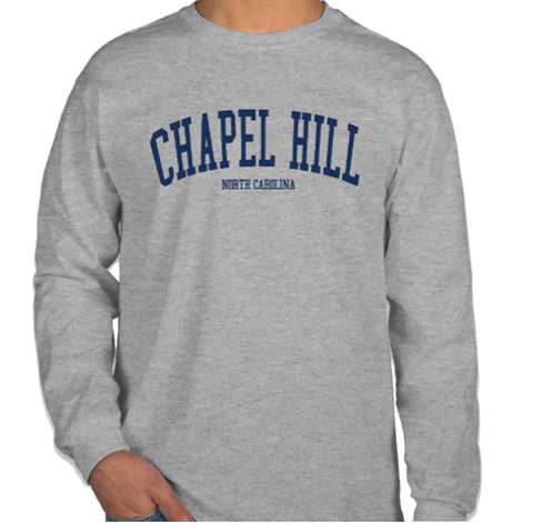 Chapel Hill Long Sleeve T-Shirt in Sport Grey