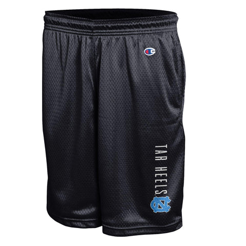 Men's Classic Mesh Shorts by Champion in Black