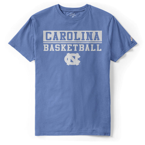Bench Warmer by League - Carolina Blue Official Carolina Basketball T-Shirt