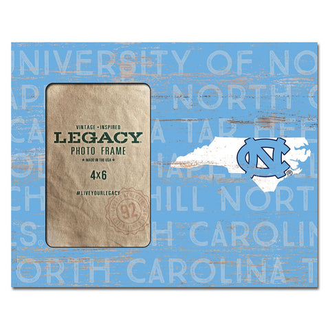 League North Carolina Tar Heels Home Picture Frame