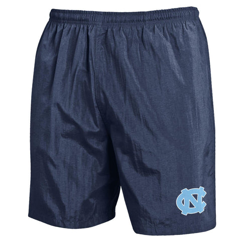 "UNC Men's Shorts Nylon 7"" inseam - NAVY"