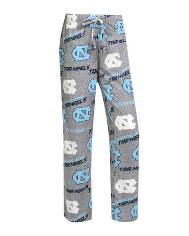 North Carolina Tar Heels College Concepts Achieve Ladies Microfleece Pant