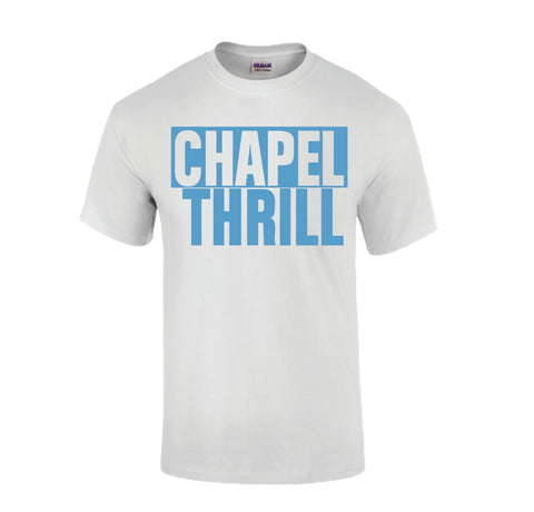 Chapel Thrill T-Shirt in White