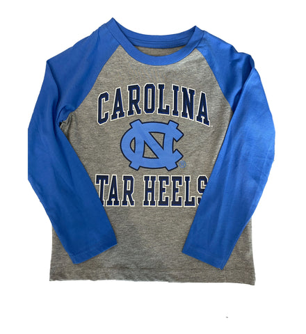 Carolina Tar Heels Baseball Long Sleeve for Toddlers