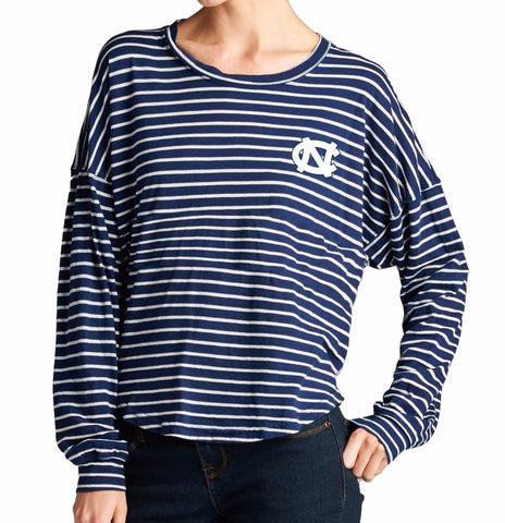 North Carolina Tar Heels Spirit Jersey Nautical Crew Shirt