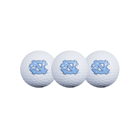North Carolina Tar Heels Wincraft UNC Golf Balls Set of 3