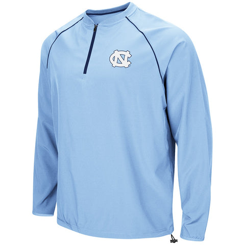 North Carolina Tar Heels Colosseum The Bigs 1/4 Zip Windbreaker - Carolina Blue