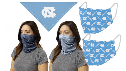 UNC Mask Multi Pack