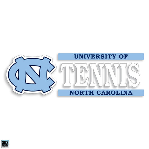 University of North Carolina Tennis Decal