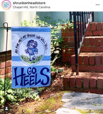 UNC Garden Flag - As for Me and My House...