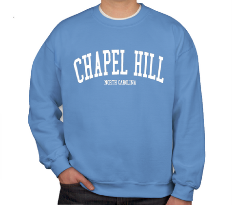 SHB Carolina Blue Chapel Hill NC Crewneck Sweatshirt