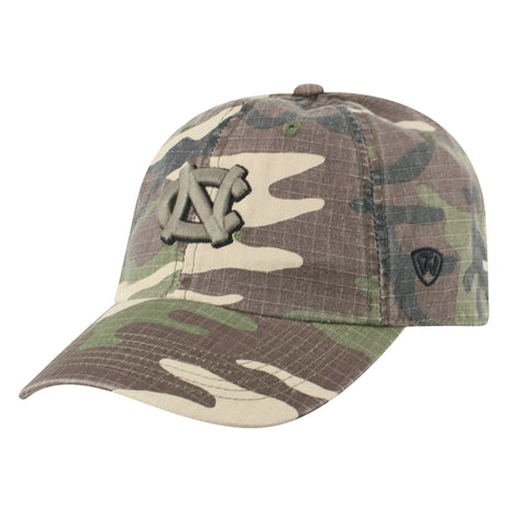 Hero by Top of the World - Camo Adjustable UNC Hat