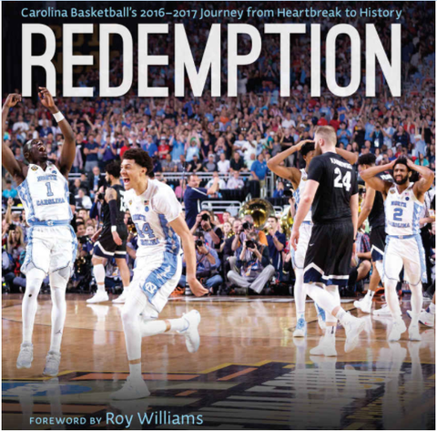 North Carolina Basketball Redemption Hardcover Book
