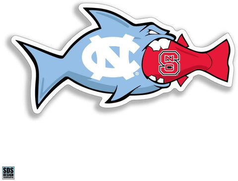 North Carolina Tar Heels > NC State Fish Decal