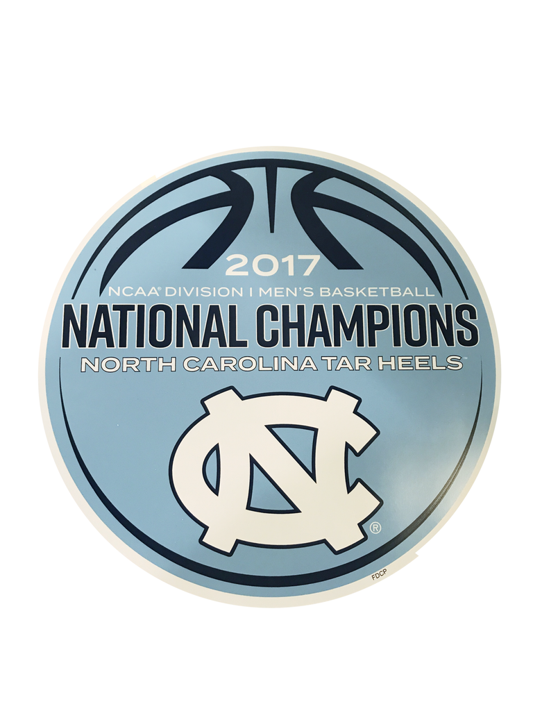 UNC 2017 National Champs Magnet