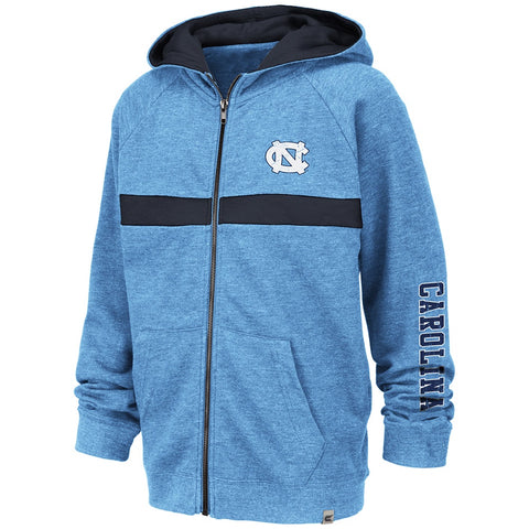 North Carolina Tar Heels Colosseum Youth Winniepeg Full Zip Hoodie