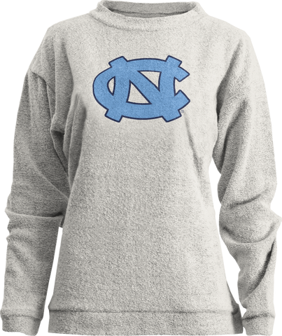 Mercy by Pressbox - Womens Oatmeal UNC Crewneck Sweatshirt