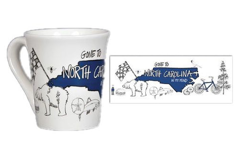 North Carolina in my Mind Coffee Mug