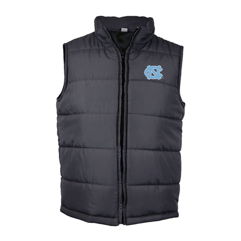 UNC Toddler Quilted Zip Up Vest