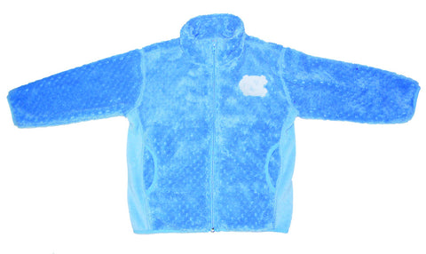 North Carolina Tar Heels Little Kind Soft Poly Fleece Jacket - Carolina Blue