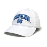 UNC Hat in White with Carolina Tar Heels Main Event Logo