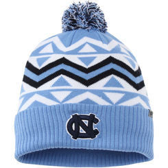 North Carolina Tar Heels Triangle Print UNC & Ram Logo Toboggan