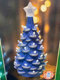 "UNC Tar Heels 14"" Ceramic Christmas Tree Statue"