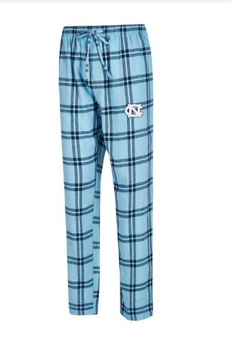 North Carolina Tar Heels College Concepts Homestretch Men's Flannel Pant