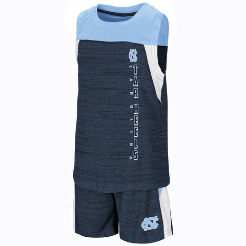 North Carolina Tar Heels Colosseum Titans of Terror Toddler Boy's Set