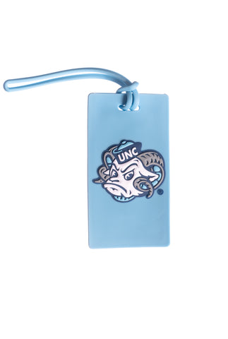 North Carolina Tar Heels Ramses Luggage Tag